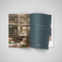 Corporate Design, Editorial Design, Luxury, Brand Design, Brand Identity Design