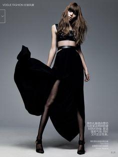 Freja Beha Erichsen by Craig McDean - Vogue China - tom ford