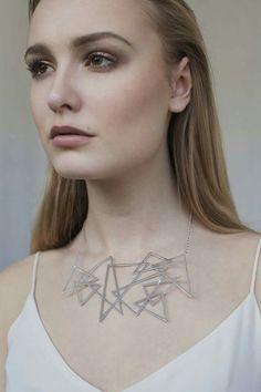 Trigonom Necklace - Be bold, be brave✴