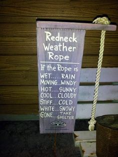 If the rope is...