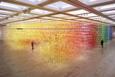 Invitée par le National Art Center de Tokyo à produire une installation pour le 10e anniversaire de l'établissement, la designer française Emmanuelle...