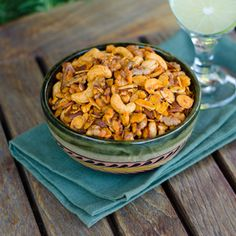 Paleo Snack Mix is salty, smoky and garlicky like traditional snack mix. #paleo #glutenfree #dairyfree Click for recipe. cookeatpaleo.com