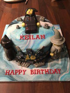 Lego dimension cake