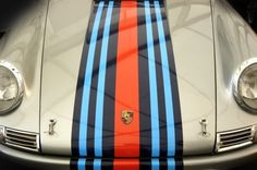 911 with martini racing stripes