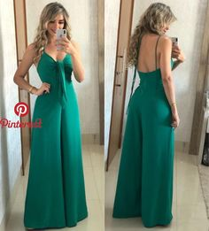 56 Casual Summer Outfits That Always Look Great Casual Summer Outfits, Cute Outfits, Stylish Outfits, Long Jumpsuits, African Fashion, Casual Chic, Casual Looks, Dress To Impress, Ideias Fashion