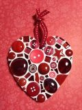 D.I.Y. Red Heart Mosaic Kit