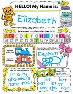 Graphic organizer posters my timeline grades k2 celebrate personal poster set my name plus teaching guide fandeluxe Images