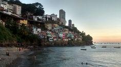 Gamboa de Baixo, em Salvador, Bahia, Brasil. Meu lugarzinho predileto daqui !!