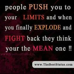 People Push You...