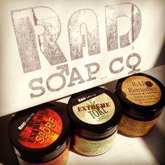 RAD soap's Extreme creams! Radsoap.com