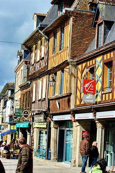 Dol-de-Bretagne, Brittany, France