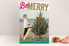 Bold for the Holidays by Chryssi Tsoupanarias at minted.com