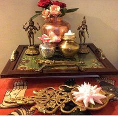 57 Ideas plants home articles Ethnic Home Decor, Asian Home Decor, Diwali Decorations, Festival Decorations, Diy Wall Decor, Diy Home Decor, Indian Inspired Decor, Temple Design For Home, Home Altar