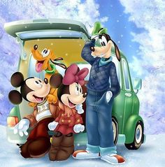 Arte Do Mickey Mouse, Mickey Mouse Cartoon, Mickey Mouse And Friends, Disney Duck, Disney Love, Disney Mickey, Disney Cartoon Characters, Disney Cartoons, Disney Images