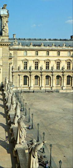 ♚ Cour Napoleon ~ The Louvre, Paris