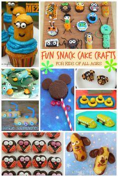 Fun Snack Cake Crafts