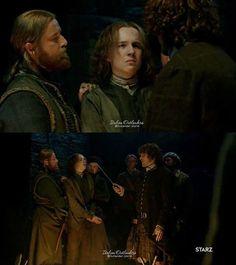 Outlander Season Two: Young Lord John Grey /  Italian Outlanders