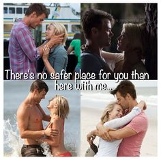 """Safe Haven. One of the most adorable movies ever. """"I'm in love with you..."""""""