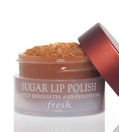 Fresh Sugar Lip Polish - I've tried many a things to keep my lips exfoliated (scrubbing face wash, toothbrush, ect.) and nothing has worked as well as this! Moisturizes and scrubs away dead skin. It has been such a lifesaver in the wintertime. It's pricey, but a little bit goes a long way. Definitely a must-use before wearing intense-colored lipstick. ($22.50 @ Sephora)
