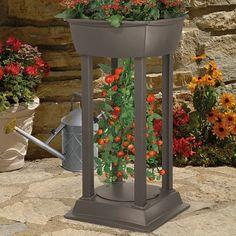 Strawberry Tower Garden Planter Freestanding Herb Tomato Flower Gardening NEW  #Unbranded
