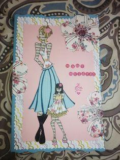 tarjeta de Julie Nuting para mi mami