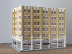 Pepper Building, Winston Salem Architektur mit LEGO | Architecture with LEGO bricks.