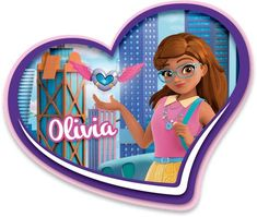 Say hello to LEGO® Friends Olivia from the town Heartlake City. Lego Friends Birthday, Lego Friends Party, Lego Friends Sets, Lego Birthday Party, Lego Village, Little Live Pets, Lego Girls, Friends Wallpaper, Bear Wallpaper