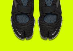 new concept 91996 1e9fc Nike Air Rift Tabi 848386-001 Black Release Info