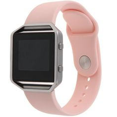 Fitbit Blaze Soft Rubber Replacement Sport Band (Pink)