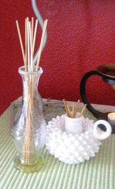 DIY Bamboo infuser asian style bedroom