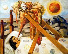 'Sin esperanza', huile de Frida Kahlo (1907-1954, Mexico)