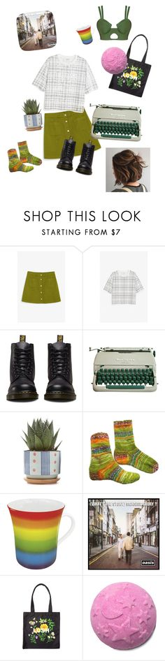 """""""first day of spring  -self love day,,,"""" by daniquebotterhuis ❤ liked on Polyvore featuring Monki, Dr. Martens and Könitz"""
