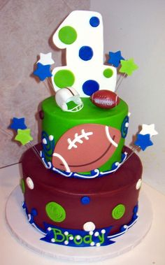 football first birthday | Cake Gallery :: Birthday Cakes :: feb2011_014