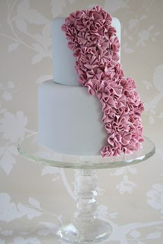 Ruffles cake....I love this