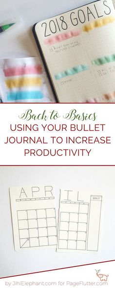 I love my Bullet Journal to increase productivity. This post is rolling things back to Bullet Journaling basics to help you maximize productivity!