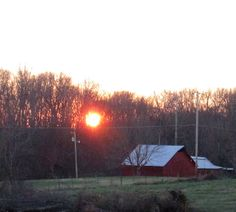 Tennessee country sunset | 2015