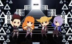 2ne1 I am the best anime~!