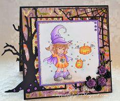 Fly Pumpkins! Fly! - Digital Stamp