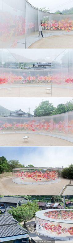 建築家の妹島和世さんが犬島の家プロジェクトで設計した「a-art house」