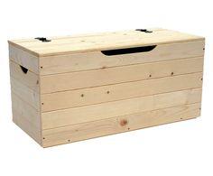 Cassapanca in legno di tiglio laccato anticato - 130x63x45 cm ...