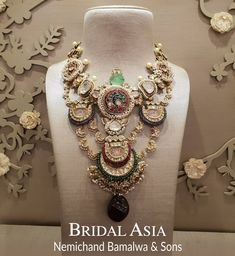 Jewelry OFF! Red Asia Delhi S/S: March 2019 at Hotel Ashok Chanakyapuri. Amp up your festive look with sublimely crafted jewellery pieces by… Silver Jewellery Indian, Indian Wedding Jewelry, Royal Jewelry, Silver Jewelry, Gold Jewellery, Indian Jewelry Sets, Jewellery Sale, Designer Jewellery, Indian Weddings