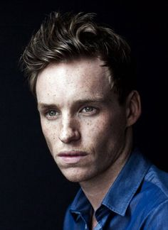 look who popped up when I was searching for quotes about freckles...Eddie Redmayne! :D I'm just going to pin this, just because :P