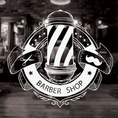 Barber Shop Sign barber shop decor barber shop by CustomVinylDNA