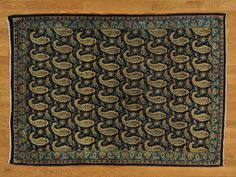 4.5' x 6.5' Semi Antique Persian Kashan Even Wear Hand Knotted Oriental Rug -