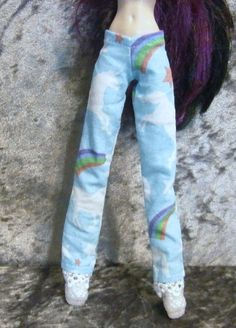 Unicorn PJ pants for monster high and ever after by moonsight68, $4.00