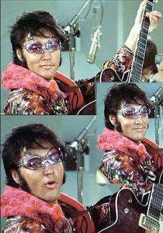 Elvis Havin' Fun!!   TTWII rehearsal  MGM Studios 1970