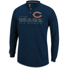 Bears NFL Team Henley - Men s by NFL.  31.99. Show the love for your 7303b6e38