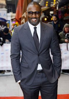 Idris Elba - tall, dark and handsome and a left-handed Brit to boot!!