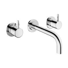 Mike Pro basin 3 hole set in Mike Pro | Luxury bathrooms UK, Crosswater Holdings
