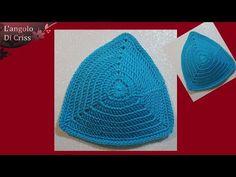 Come fare le coppe perfette per costumi o top all'uncinetto - tutorial uncinetto facile - YouTube
